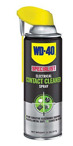 Discounted Wd 40 Specialist Electrical Contact Cleaner Spray Electronic Electrical Equipment Cleaner 11 Oz Pack Silicone Spray Wd 40 Silicone Lubricant