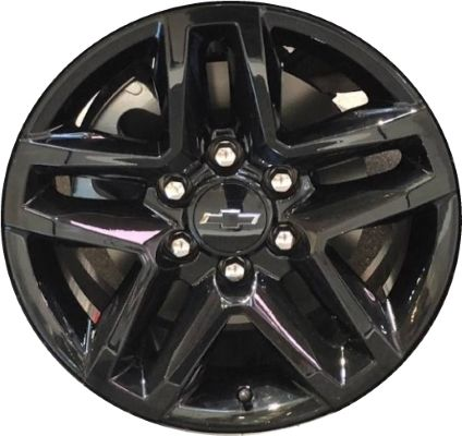 Aly5911 Chevrolet Silverado 1500 Wheel Black Painted 23377012
