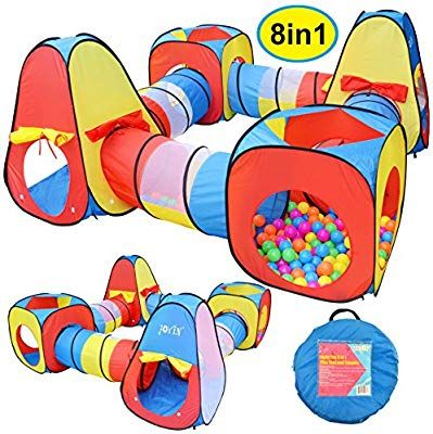 Joyin Toy 8 In 1 Pop Up Play Tent