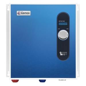 Eemax 27 Kw Self Modulating 5 3 Gpm Electric Tankless Water Heater Eem24027 In 2020 Water Heating Energy Saver