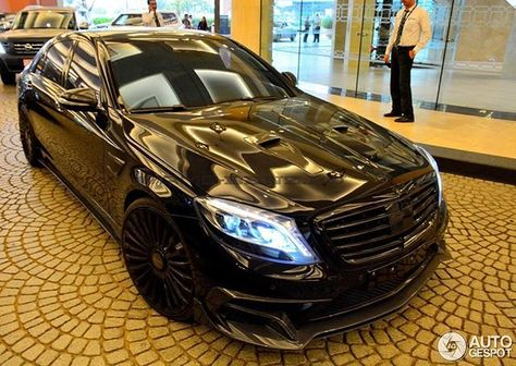 Instagram media by m_b_amg - MANSORY Black Diamond #mercedes - küchenfront neu folieren