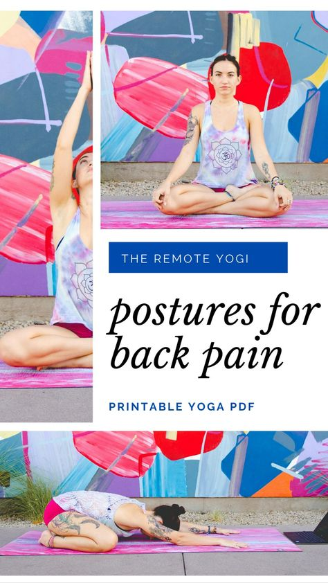 Yoga Power to Release Lower Back Pain