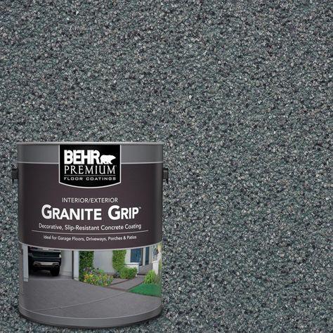 Behr Premium 1 Gal Gg 01 Slate Ivory Decorative Flat Interior