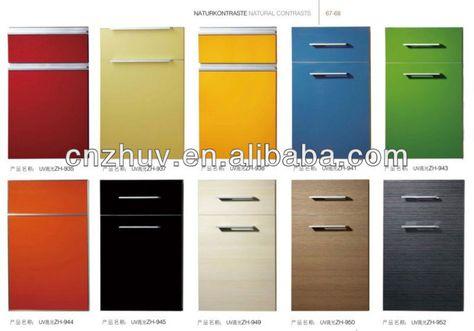 Waterproof Acrylic Kitchen Cabinet Door Panel Kitchen Cabinets Cover Gloss Kitchen Cabinets High Gloss Kitchen Cabinets