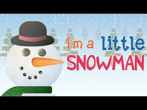 "The perfect time to make a snowman. Introduce clothing and parts of the body with this simple song for toddlers. ""I'm A Little Snowman"" from Super Simple Songs. Winter Songs For Kids, Christmas Songs For Kids, Preschool Christmas, Kids Songs, Winter Fun, Winter Theme, Christmas Videos, Christmas Program, Kindergarten Songs"