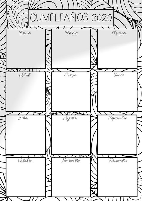 Agenda 2019 con Mandalas para Colorear y consignas de Journaling. Bullet journal imprimible. Incluye Calendario Perpetuo de regalo para tener una Agenda completa - 2 dias por hoja. 56 páginas tamaño A4 en formato PDF para descarga inmediata. * ACTUALIZACIÓN * AGENDA 2020 10 páginas A4 en formato PDF