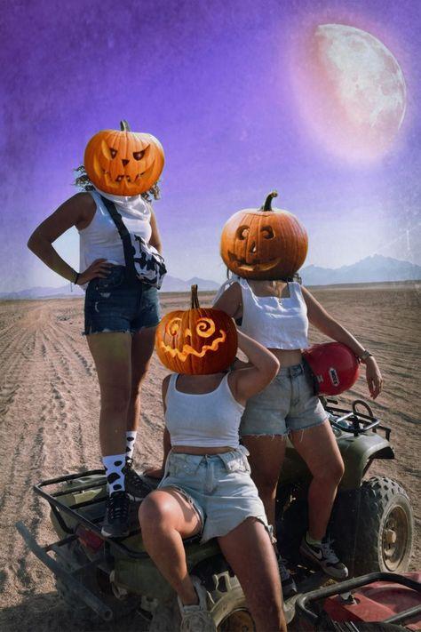 #PumpkinChallenge Picsart Edition 🎃 Use pumpkin Stickers to create your own pumpkin challenge photos 👻