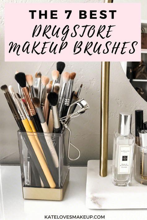 The 7 Best Drugstore Makeup Brushes Kate Loves Makeup Drugstoremakeup Bblogger Beauty Blogger Kate Loves Make Best Drugstore Makeup Drugstore Makeup Makeup