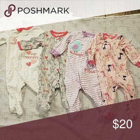 f76508adb Four Koala kids footie pajamas