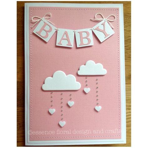 54 Ideas Baby Shower Card Cricut Stampin Up Baby Shower Cards Handmade Baby Cards Handmade Baby Shower Cards Diy