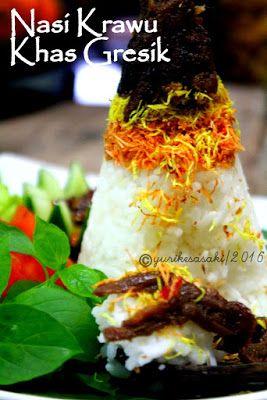 Dapoer Joglo Nasi Krawu Khas Gresik Memasak Resep Masakan Masakan