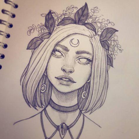 New drawing :-) #drawing #sketchbook #art #instaart #artofinstagram #portrait #face #improvement #photoshop #painting #progress #pencildrawing #doodle #digitalart #illustration #pencil