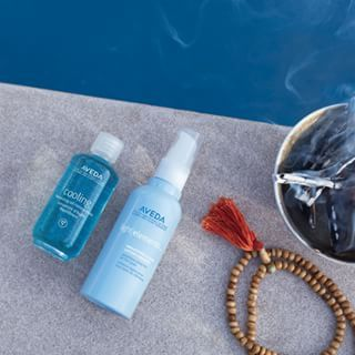It S A Pool Day The Aveda Way With Cooling Oil Balancing Concentrate To Cool You Down And Refresh Your Vibes On Demand And Light Elem In 2020 Aveda Oil Light
