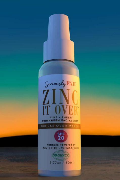 #zincitover #overmakeup #sunscreen #safe #nochemicals #vegan #crueltyfree #sheer #hydrating #fresh