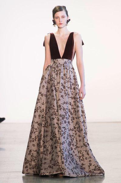 Badgley Mischka at New York Fashion Week Fall 2018 - Every Must-See Runway Dress at New York Fashion Week for Fall 2018 - Photos