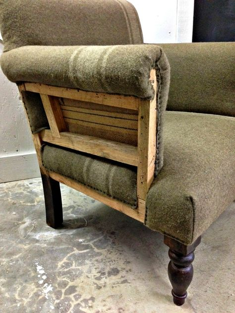 blue roof cabin: Deconstructed Chair
