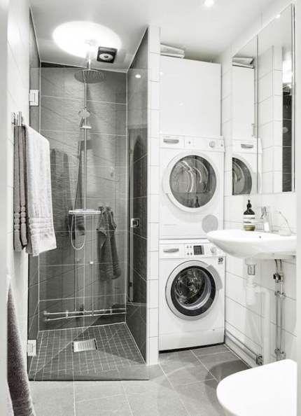 Bath Room Shower Ideas Tiny 70 New Ideas Laundry In Bathroom Bathroom Shower Design Small Bathroom