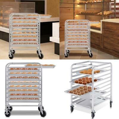 10 Sheet Aluminum Rolling Bakery Pan Rack In 2020 Pan Rack Major Appliances Rack