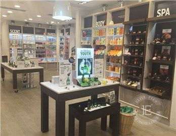 Beauty Products Display Tables Cabinets For Retail Store Wooden Display Cabinets Retail Store Interior Design Table Display