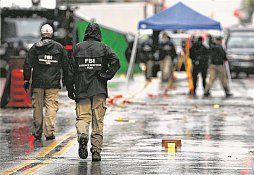 USA Von Explosion und Reaktion  Das FBI ermittelt, mögliche Hintermänner des New Yorker Attentäters konnten nicht ausgeforscht werden.