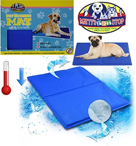 Matty S Pet Stop Pet Cooling Mat Small 19 7 X 15 7 Click Image For More Details It Is Amazon Affiliate