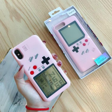 Nintendo game boy tetris shockproof case for iphone xs max xs xr x 8 7