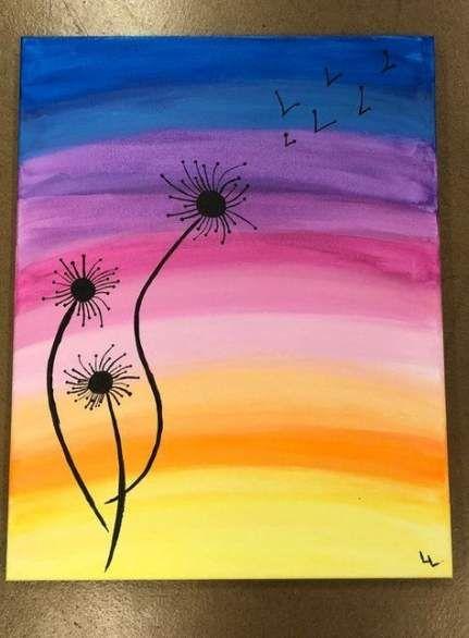 Super Body Art Painting Back Easy Ideas Flower Art Painting Simple Canvas Paintings Cute Canvas Paintings