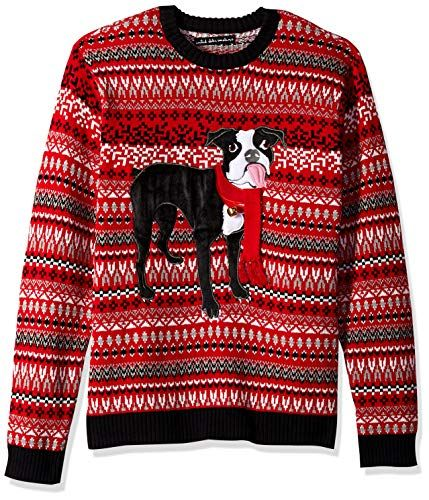 Boston Terrier Christmas Sweater.Pin On The Best Ugly Christmas Sweater Board