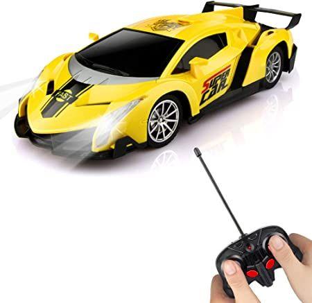 Im Test 2020 Baztoy Ferngesteuertes Auto Kinder Spielzeug 1 24 Modell Auto Rc Car Elektronisch Fernbedienung Fahrzeug Mit Led In 2020 Car Model Remote Control Cars Car
