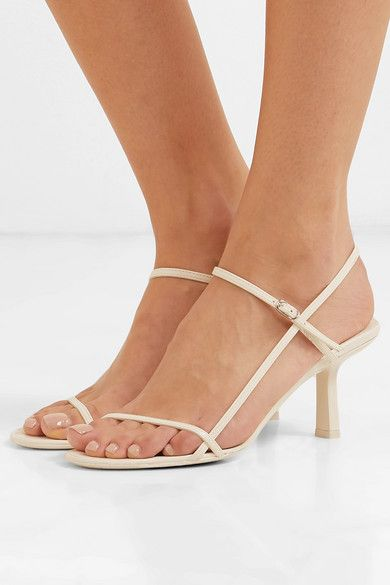 41f46d1632f23 The Row - Bare leather sandals in 2019 | Sandal Style | Sandals ...