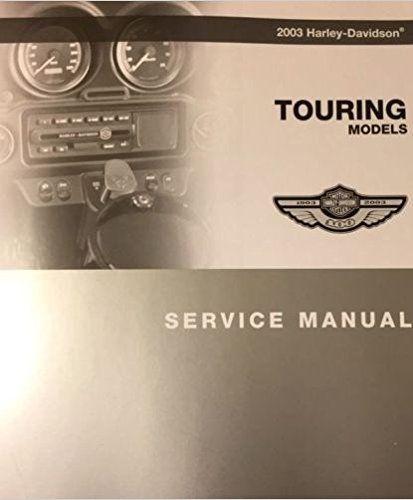 2003 Harley Davidson Touring Models Service Shop Repair Workshop Manual New 2003 In 2020 Harley Davidson Harley Davidson Touring Harley