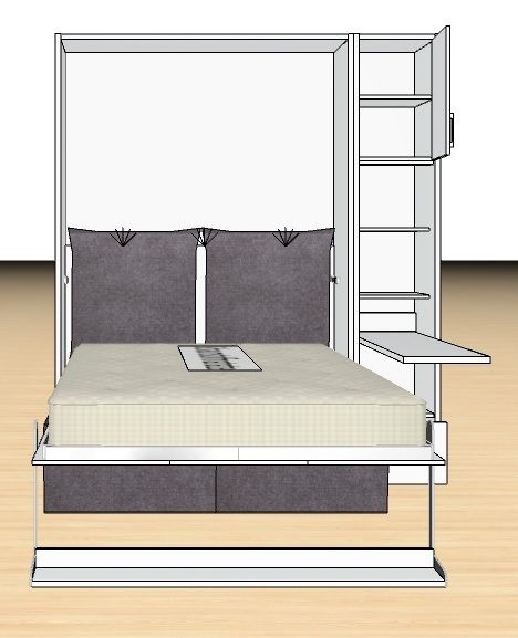 Tweepersoons Bank Bed.Pin Op Opklapbed Convertible Bed Slaapkenner Theo Bot