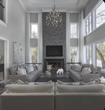 Contemporary Lighting Tips For Your Living Room High Ceiling Living Room Contemporary Living Room Design Minimalist Living Room