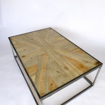Union Jack Design Wood Table; Beetle Kill Pine; Handmade Modern Furniture;  Industrial Furniture With Reclaimed Wood; Up Cycled Wood; British Flag Du2026