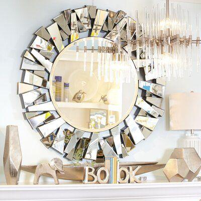 Wayfair Mercer41 Wall Mirror Mirror Wall Living Room Gold Wall Decor Mirror Wall Bedroom