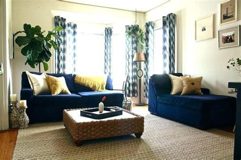 Dark Blue Sofa Decorating Ideas Curtain Menzilperdenet Navy Sofa