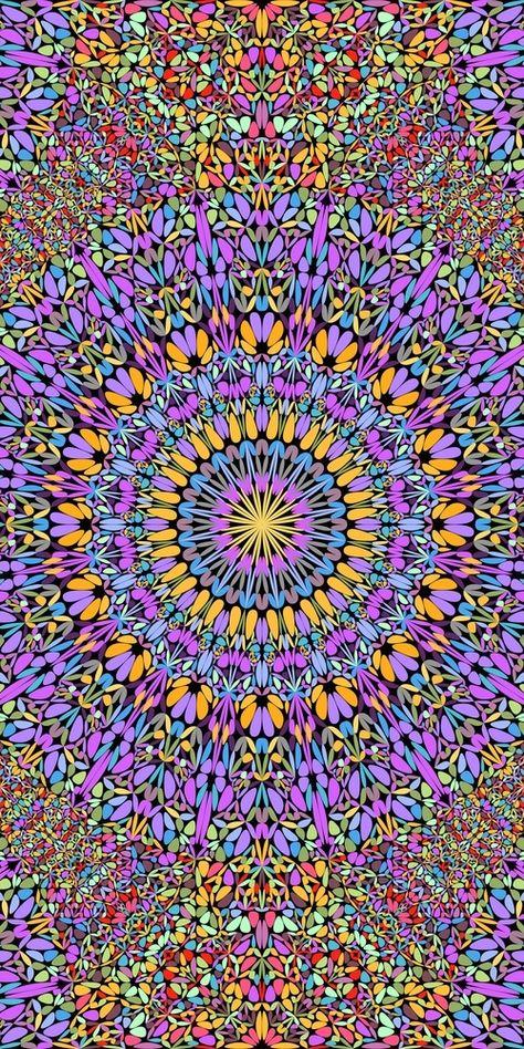 48 Seamless Floral Mandala Patterns (274410) | Patterns | Design Bundles