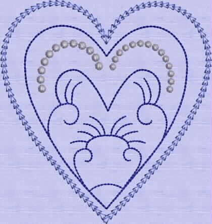 Candlewick heart