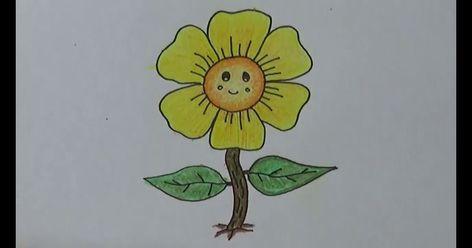 Terkeren 30 Gambar Bunga Matahari Kartun Berwarna Di 2020