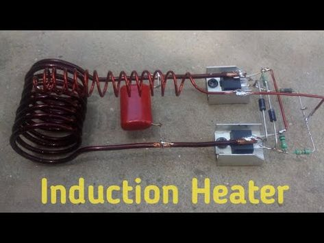 How To Make Apowerful Induction Heater Youtube Induction Heater Electronics Circuit