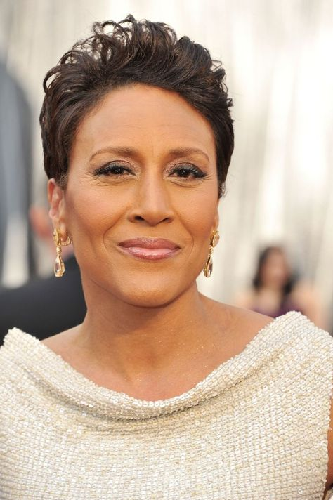 Robin Roberts; grace and courage under duress, she is beauty personified!!