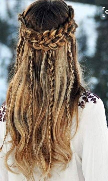 Fashion Boho Hippie Hairstyles 49 Ideas For 2019 Wedding Hairstyles Thin Hair Hippie Hair Medium Hair Styles