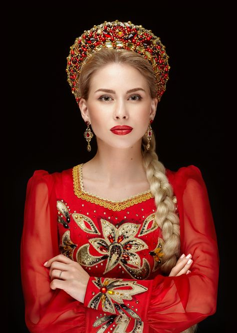 Russian beauty (by Boris Belokonov)