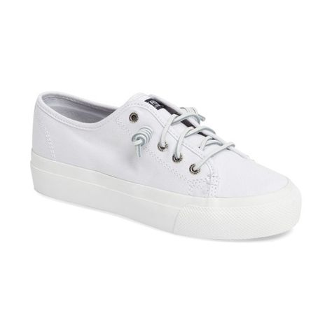 1997f581b1b1 Women s Sperry Sky Sail Platform Sneaker (£50) ❤ liked on Polyvore  featuring shoes