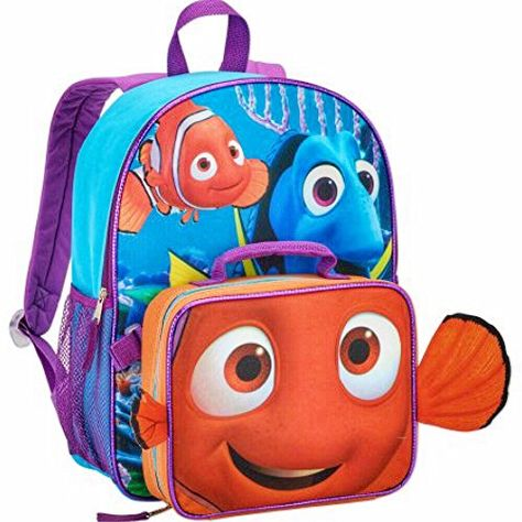 Disney Pixar Finding Dory Kids Backpack   Lunch Bag Set D...  https   www.amazon.com dp B01HFLUU42 ref cm sw r pi dp x XoidAbKE8Q1S8 3a6dda3f197dd