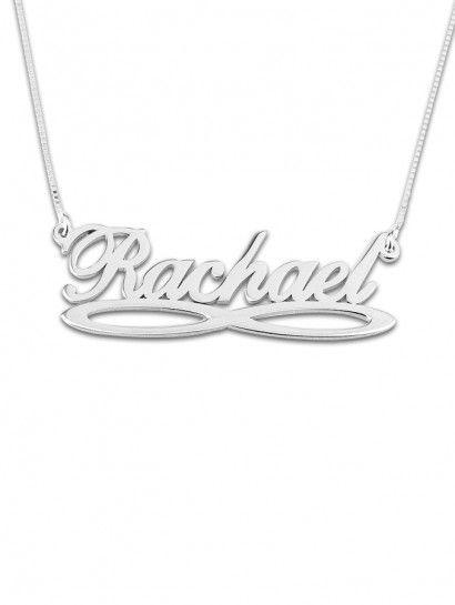 سلسله فضة عيار 925 سلسلة فضة ايطالى عمولة بالاسم اللى تحبه Silver Bracelet Necklace Silver Necklace