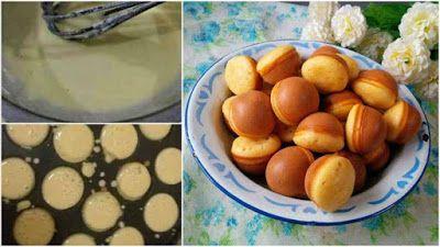 Resep Kue Cubit Lembut Dan Menul Pas Buat Ceminlan Nonton Bareng Keluarga Dapur Rahasia Iko Food And Drink Food I Love Food