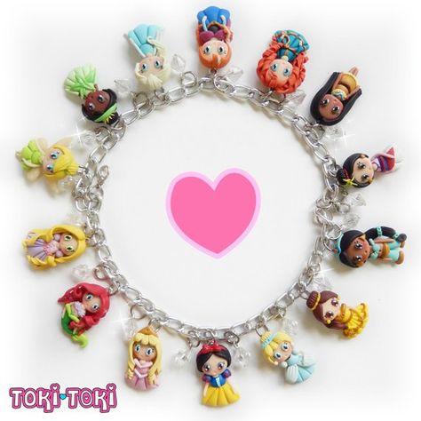 Fairy Tale Princess Bracelet, Princess Jewelry, Fairy Tale Jewelry, Princess Gift, Storybook Jewelry