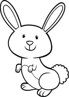 ارنب للتلوين رسومات أرانب للتلوين لتنمية مهارات طفلك بفبوف Bunny Coloring Pages Kids Printable Coloring Pages Easter Bunny Colouring