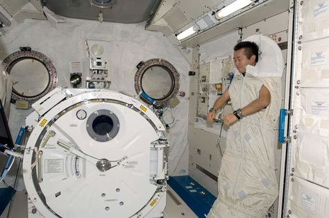 Image Result For Where Do Astronauts Sleep Astronaut Space Flight Space Radiation